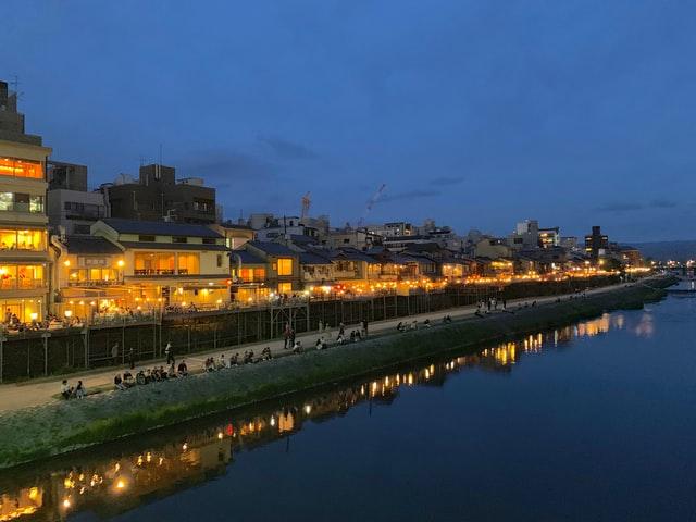 京都・鴨川