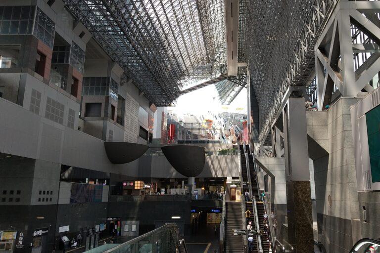 京都駅の風景